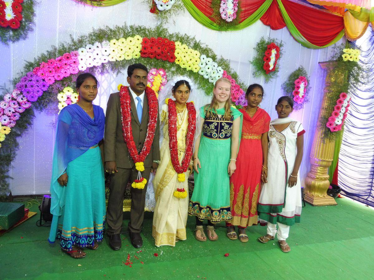 Verheiratete von Indien Lokale Telefonleitungen